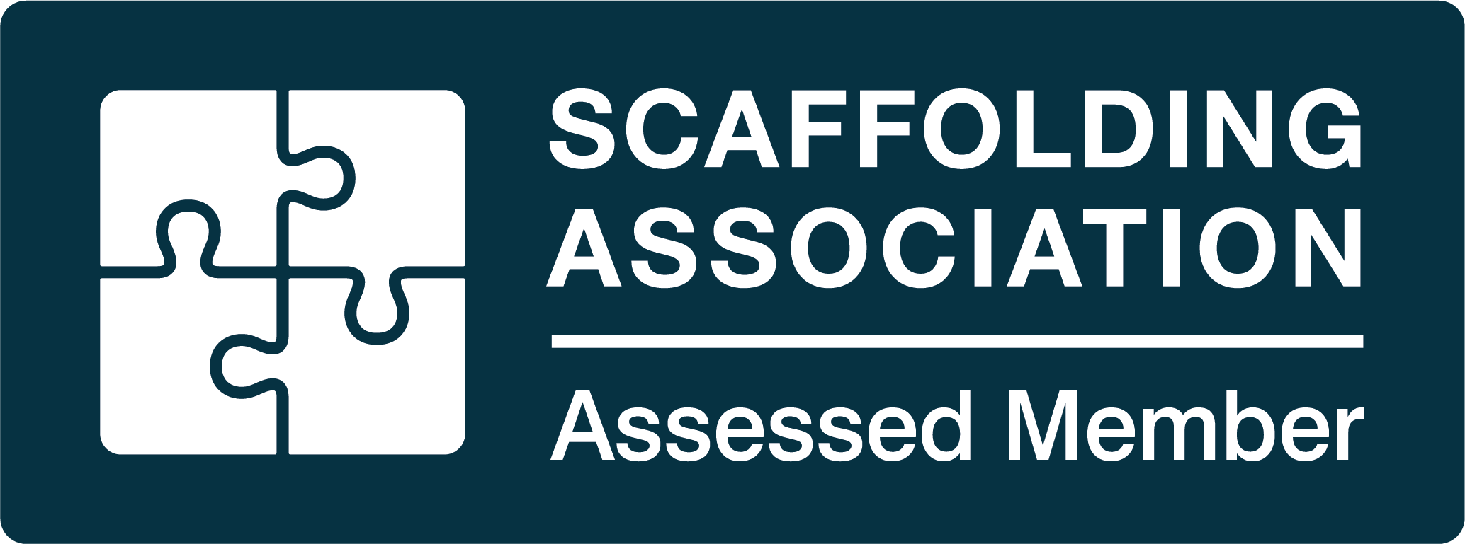 Scaffolding Association Assessed Member Logo